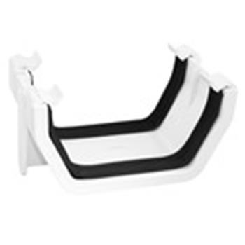 Square Line Gutter Joiner, In White (used by Regal, Victory, ABI, Atlas, Swift and others)