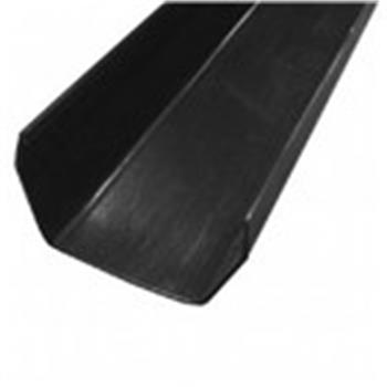 Square Line Guttering, 2M Length, 112mm in Black (Used by Regal, Victory, ABI, Atlas,Swift and Others) image 1