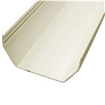 Square Line Guttering, 2M Length, 112mm in White (Used by Regal, Victory, ABI, Atlas,Swift and Others) image 1