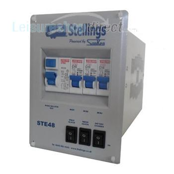 Stelling Mains Consumer Unit with 3 Stage Charger