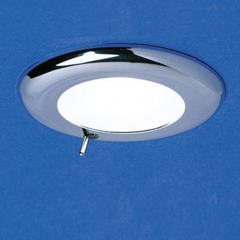 Switched Nova Chrome Light (12 volt 10 watt)