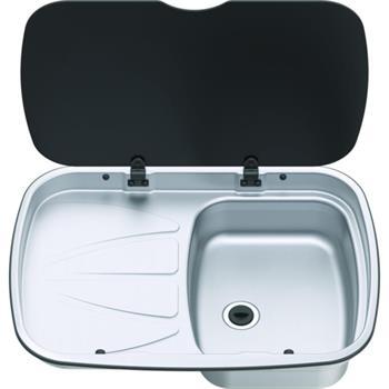 Thetford Spinflo Argent Sink LH Drainer