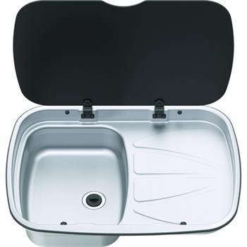 Thetford Spinflo Argent Sink RH Drainer