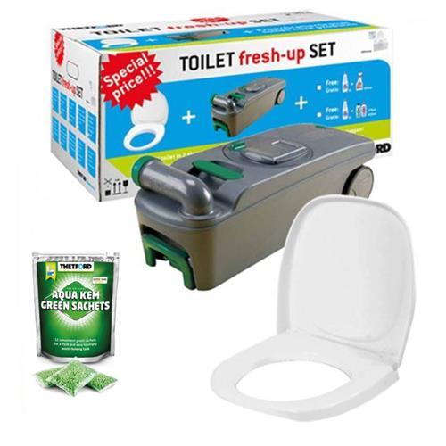 Thetford Toilet Fresh up set for C400