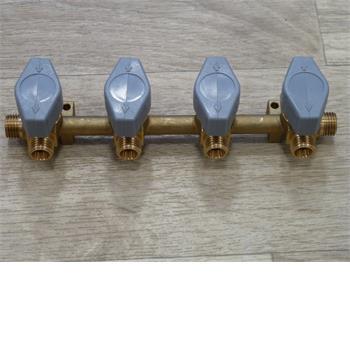 Truma 4 Tap Gas Manifold 8mm