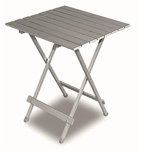 Twist folding aluminium table