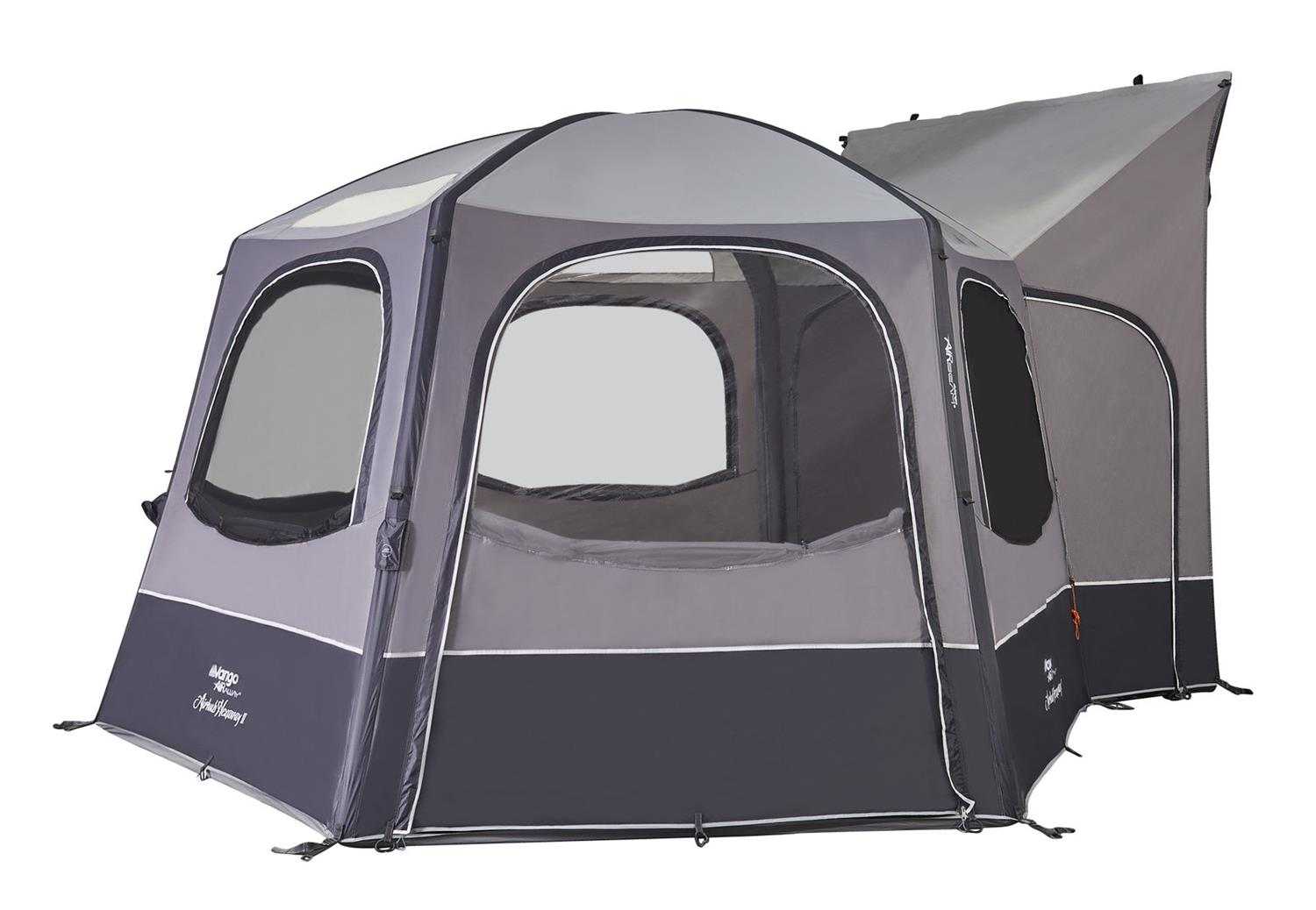 Vango's Hexaway II Vehicle awning.