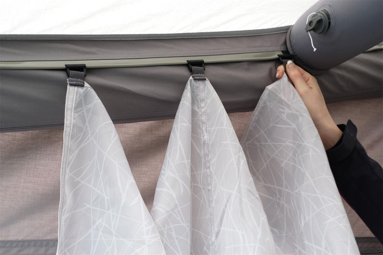 Vango Sky Liners are specific to your Vango awning.