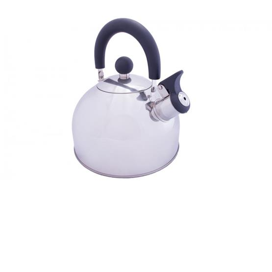 Vango 2L Stainless Steel kettle with folding handle image 1
