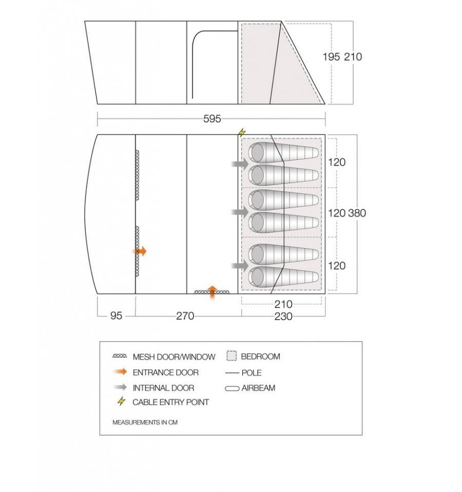 Aether 600XL Dimensions