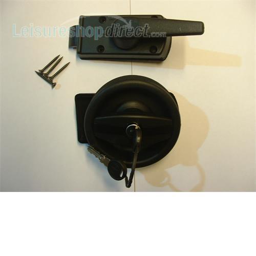 Vecam door lock complete with barrel and keys right hand