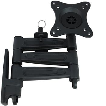 Vision Plus LCD TV Wall Bracket - Triple Arm, Black Heavy Duty