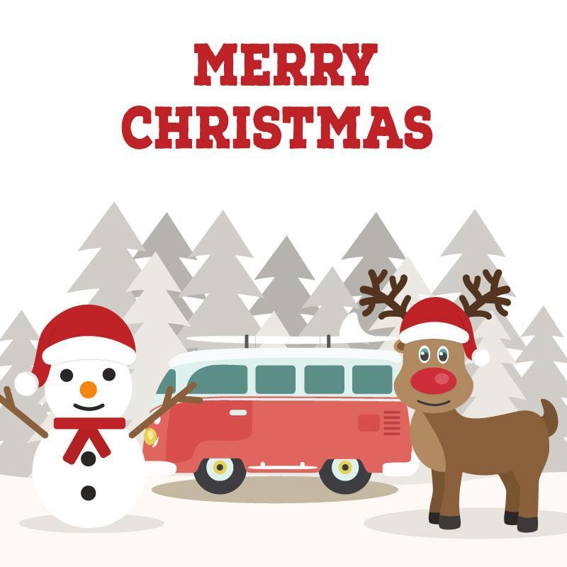 campervan christmas bauble asda