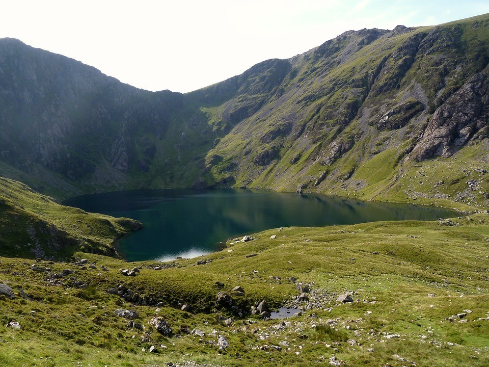 cadar idris mountain in snowdonia