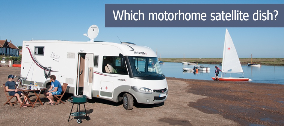 Which motorhome satellite dish?