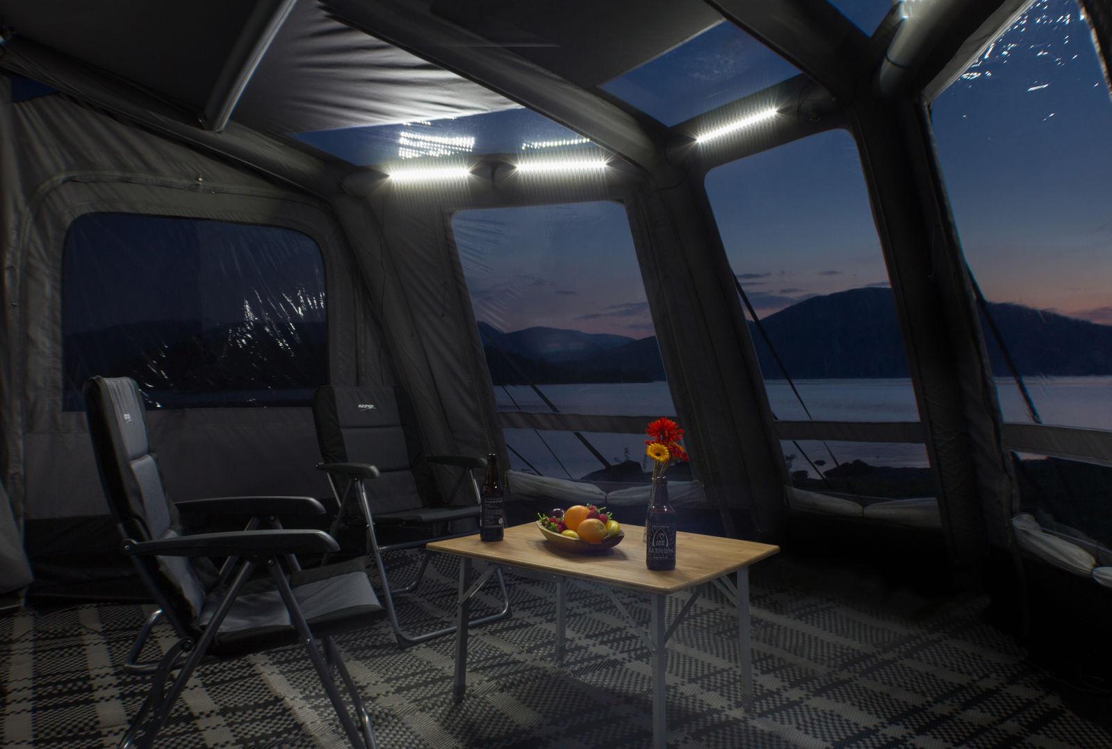 Vango AirBeam caravan awnings