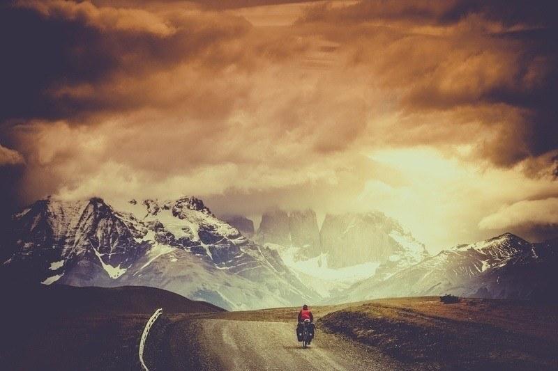 Lone Adventure Cyclists
