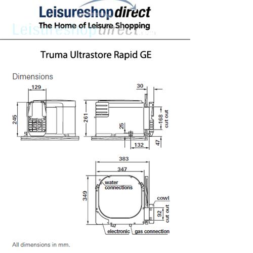 truma caravan water heater instructions