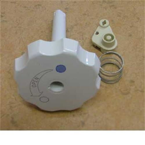 flush knob assembly for thetford toilet c2 c3 c4 white. Black Bedroom Furniture Sets. Home Design Ideas