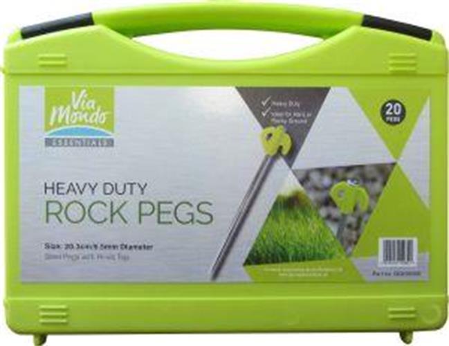 Via Mondo Titan Rock Pegs Box 20
