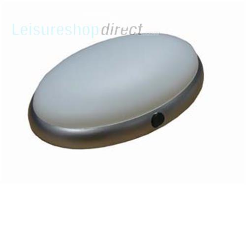 Lumo 9W Coronet Light Silver Sand Leisureshopdirect
