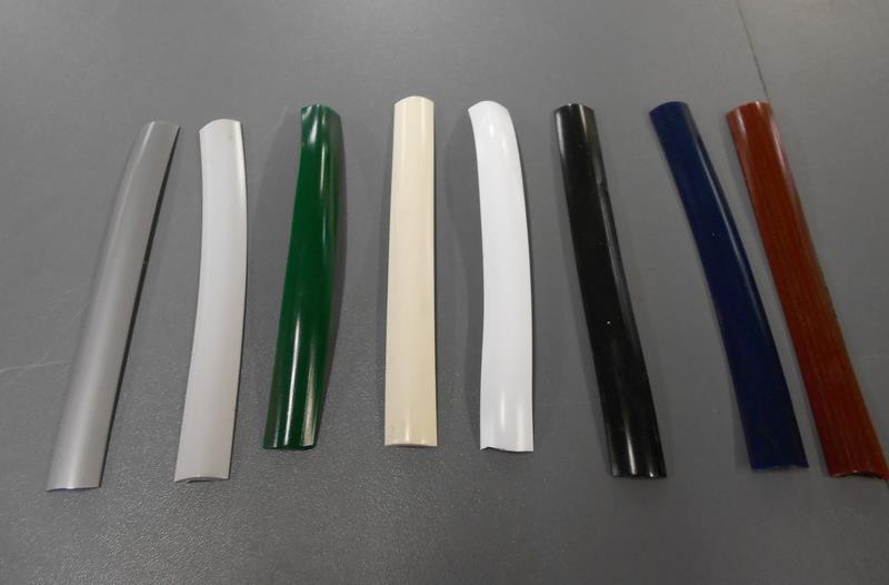 Herzim Strip 115 Screw Cover Strip White Rubber And