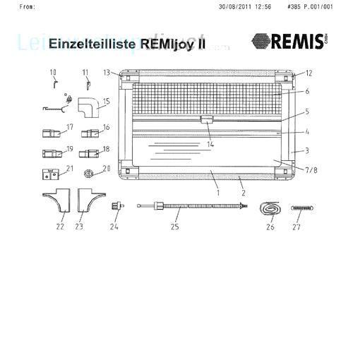 Remis Remijoy Ll Blinds Spare Parts Leisureshopdirect