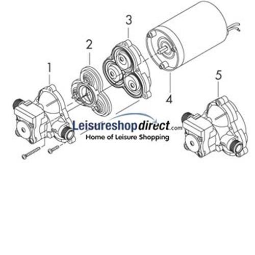 shurflo trail king pump series   spare parts