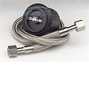 Gaslow refill kit - black with 1.5m fill hose