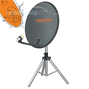 Vision Plus FOCUS 865 - 65cm Portable Satellite System