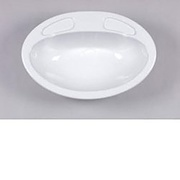 Caravan Vanity Sink Bowl - White