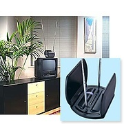 Vision Plus Compact Set Top TV  Antenna UHF VHF-UHF