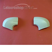 Corner capping, pair, for Remismart
