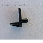 Shelf Bracket - push in. Black
