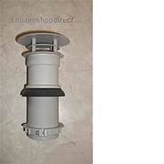 Flue terminal complete for Trumatic S3002/S3004 fires