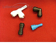 Push Fit Fittings 10mm and 12mm