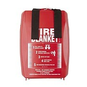Fire Blanket to BS6575 in rigid case