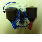 Nimbus Shower mixer tap - brown