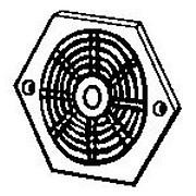 Hexagonal Vent - Plastic