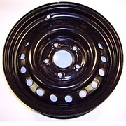 Wheel rim 5.5J x 14in 5 Stud - black