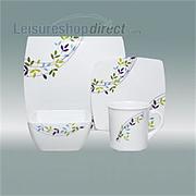 Spring Leaf Melanine Tableware
