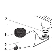 Waterfill Funnel Assembly -Thetford C2 & C4 Cassette