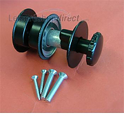 Alloy Door Retainer - black