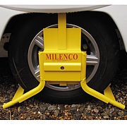 Milenco Original Wheel Clamp for Motorhomes with 15$$$ Wheels