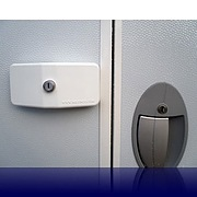 Milenco Door Lock for Touring Caravans - Triple Pack