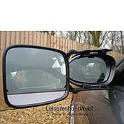 Milenco Safety Caravan Towing Mirror- Convex