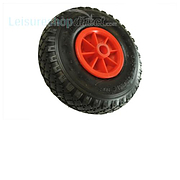 Maypole 260mm Plastic Wheel with Pneumatic Tyre for Jockey Wheels