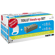 Thetford Toilet fresh-up set for C2/3/4 - left hand