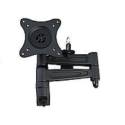 Vision Plus-LCD TV Wall Bracket - Double Arm, Black
