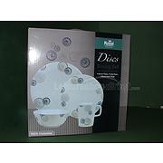 Discs Melamine Dining Set